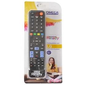 OMEGA TELECOMANDO UNIVERSALE LG senza installazione COMPATIBILE LCD 3D TV