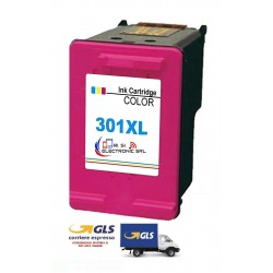 ORINK HP 301XL/CH564EE COLORE 1050/2000 (CH390B)/2050 (CH350B)/2050s CARTUCCIA INK ECO