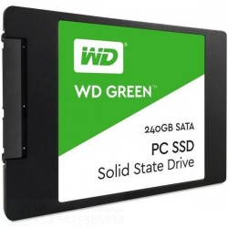 SSD 240GB WESTERN DIGITAL WDS240G2G0A GREEN 3D SATA 2.5""