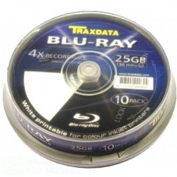 TRAXDATA BLU-RAY 25GB 4X...