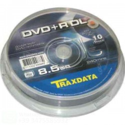TRAXDATA DVD+R DL 8.5 GB 8X...