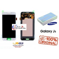 DISPLAY LCD+ TOUCH (AMOLED) ORIGINALE SAMSUNG J5 2015 J500F/FN/DS BIANCO