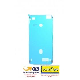Adesivo biadesivo per apple iphone 8 plus nero ricambio colla impermeabile telaio (guarnizione)