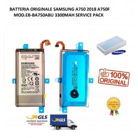 BATTERIA ORIGINALE SAMSUNG A8 2018 A530 MOD.EB-BA530ABE 3000MAH BULK SERVICE PACK