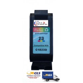 HP 23 COLORE 140/145/150/155/160/170/260/270 CARTUCCIA INK ECO