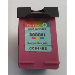 HP 300XL COLORE  D1660/D1663/D2260/D2500/D2530CARTUCCIA INK ECO