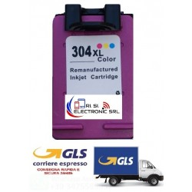 HP 304XL COLORE 3720 3730  CARTUCCIA INK ECO