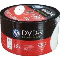 HP DVD-R 16 X VALUE PACK DA 50 PZ.