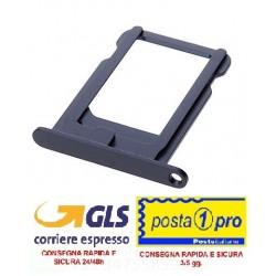 IPHONE 5G NERO CARRELLO NANO SIM DI RICAMBIO OEM(5G SIM Card Tray - Black)