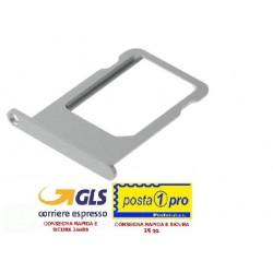 IPHONE 5G SILVER CARRELLO NANO SIM DI RICAMBIO OEM (5G SIM Card Tray - SILVER)
