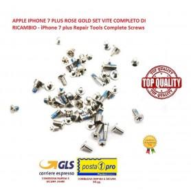 APPLE IPHONE 7 PLUS ROSE GOLD SET VITE COMPLETO DI RICAMBIO - iPhone 7 plus Repair Tools Complete Screws