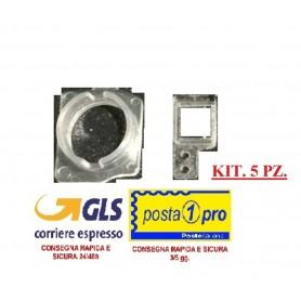 KIT. 5 PZ. IPHONE 7/7 PLUS STAFFA DI RICAMBIO IN PLASTICA DEL SENSORE DI PROSSIMITA'/FOTOCAMERA - Iphone 7 / 7 PLUS Front Camer