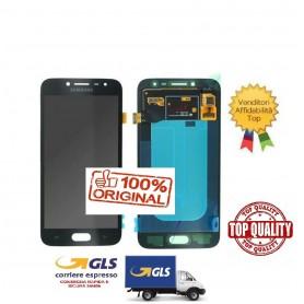 LCD DISPLAY (AMOLED) DI RICAMBIO ORIGINALE SAMSUNG J2 PRO 2018 J250F NERO GH97-21339A