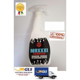 NETTEX MAXXXI SGRASSO 0,75 LT. DETERGENTE SGRASSANTE ALTA EFFICENZA PER SUPEFICI LAVABILI.