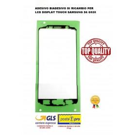 ADESIVO BIADESIVO DI RICAMBIO PER LCD DISPLAY TOUCH SAMSUNG S6 G920