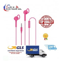 CELLY - UP400ACTPK AURICOLARI STEREO 3.5MM ACTIVE ROSA-ROSA/PLASTICA