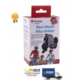 CAR HOLDER SUPPORTO AUTO  UNIVERSALE PER SMARTPHONE MAXI STAND PER BICICLETTA