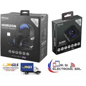 CUFFIA GAMING FUSION HEADSET + SOUND BOX 7.1 VIRTUAL SURROUND - BUNDLE