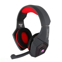 CUFFIE RED KNIGHT X1300 PRO  GAMING HEADPHONE  COMPATIBILE PS4 E XBOX CON REGOLATORE VOLUME E SWITCH MICROFONO JACK 3,5mm