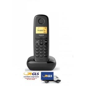 GIGASET A270 TELEFONO CORDLESS CON VIVAVOCE COLORE NERO