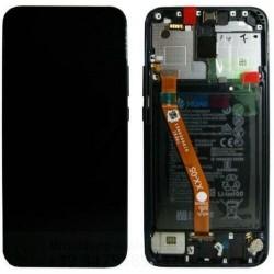 DISPLAY LCD ORIGINALE HUAWEI MATE 20 LITE BLUE FRAME SNE-LX1 SNE AL00 FRAME BATTERIA