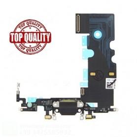 Connettore di ricambio  flat flex di ricarica compatibile Apple iphone 8 nero - Charging Port Flex Cable for iPhone 8 (Black)