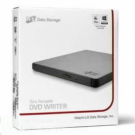 LG MASTERIZZATORE DVD ESTERNO ULTRASLIM USB 2.0 SILVER - GP57ES40