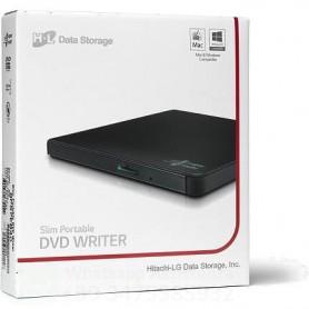 LG MASTERIZZATORE DVD ESTERNO ULTRASLIM USB 2.0 NERO - GP57EB40