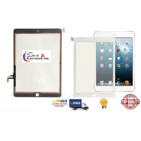 Vetro touch screen per Apple Ipad Air/5A gen.a1474/a1475/a1476 bianco/white  821-1894-a top quality