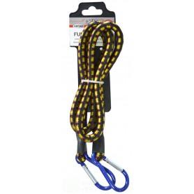 KOMBO Fune elastica con moschettoni alle estremità O. 10 mmX120cm.