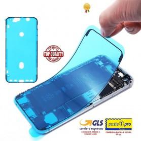 Adesivo biadesivo per apple iphone xr nero ricambio colla impermeabile telaio (guarnizione)