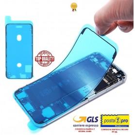 Adesivo biadesivo per apple iphone 11 nero ricambio colla impermeabile telaio (guarnizione)