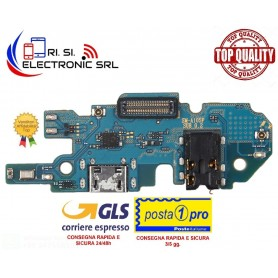 Connettore ricarica OEM Samsung Galaxy A10 SM-A105F REV. Sub 0.2 dock usb MICRO USB+microfono