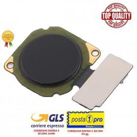 Sensore di impronte digitali per Huawei Mate 10 Lite RNE-L01 RNE-L21 (nero) - Fingerprint Sensor Flex Cable