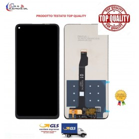 LCD DISPLAY TOUCH SCREEN HUAWEI P40 LITE 5G SENZA FRAME NERO TOP QUALITY.