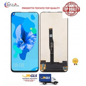 LCD DISPLAY TOUCH SCREEN HUAWEI P20 LITE (2019) (NERO) SENZA FRAME TOP QUALITY.