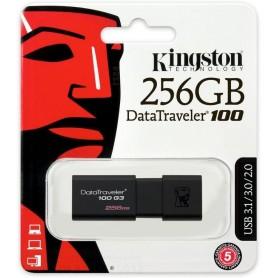 KINGSTON USB FLASH 256GB USB 3.0 NERA DT100G3/256GB