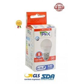 SFERA LED G45 6W 540LM 3000K E27 A+ 45*79MM 25000H LUCE CALDA