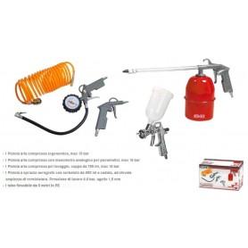 KOMBO Kit 5 (cinque) accessori per compressore