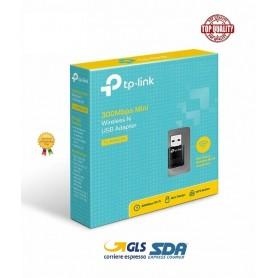 TP-LINK TL-WN823N ADATTATORE USB WIRELESS 300MBPS MINI SCHEDA N300 INTERNET WIFI