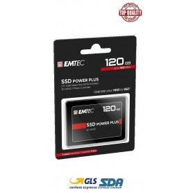 Emtec X120 Power Plus SSD 2,5  HardDisk 120GB interno 520MB/s lettura 500MB/s scrittura