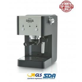GAGGIA GRANGAGGIA DELUXE RI8425/11 MACCHINA CAFFÈ CIALDE 44MM/MACINATO INOX/BLACK