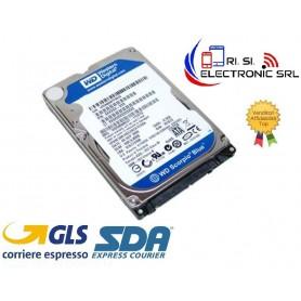 """USATO WESTERN DIGITAL WD5000LPVX HARD DISK 500GB 2,5"""" SATA III 6 GB/S Buffer 16 MB 5400 Rpm 7 mm BLUE"""