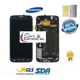 DISPLAY LCD (AMOLED)  ORIGINALE SAMSUNG S6 EDGE G925F/FN/DS NERO/BLACK