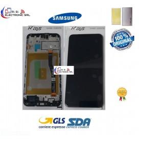 DISPLAY LCD ORIGINALE SAMSUNG M20 SM-M205F/FN/DS NERO GH82-18682A