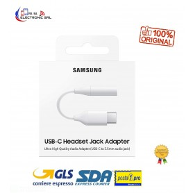 SAMSUNG  ADATTATORE USB TYPE-C SU CONNETTORE JACK DA 3,5 MM (EE-UC10J) - CONFEZ. DANNEGGIATA