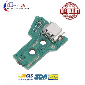 CONNETTORE RICARICA MICRO USB PCB 12 PIN JDS-055 CONTROLLER JOYPAD SONY PS4