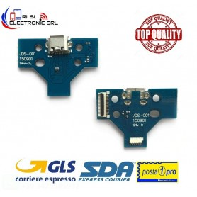 CONNETTORE RICARICA MICRO USB PCB 14 PIN JDS-001 x CONTROLLER JOYPAD SONY PS4