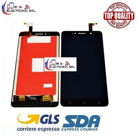DISPLAY LCD ALCATEL ONE TOUCH PIXI 4 OT-8050D TOUCH SCREEN SCHERMO VETRO NERO