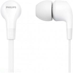 PHILIPS CUFFIE AURICOLARI CABLATE IN EAR E1105BK/00 COLORE BIANCO JACK 3,5MM